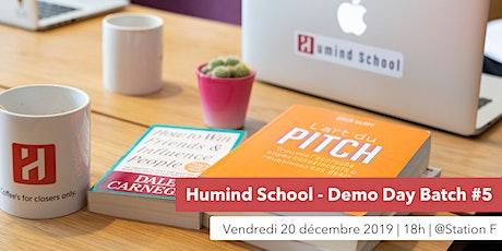 Humind School - Demo Day Batch #5 billets