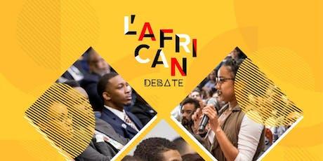 L'African Debate- 03 billets