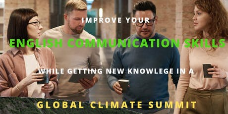 Visit to the climate summit and post-discussion with professional language assessors tickets