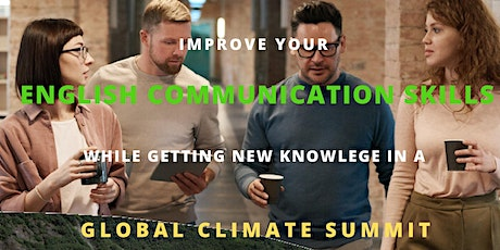 Visit to the climate summit and post-discussion with professional language assessors billets