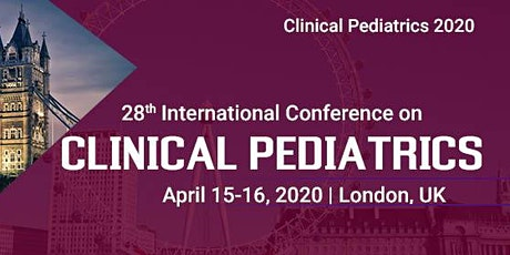28th International Conference on Clinical Pediatrics tickets