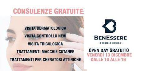 Open Day Gratuito: Visita Dermatologica biglietti