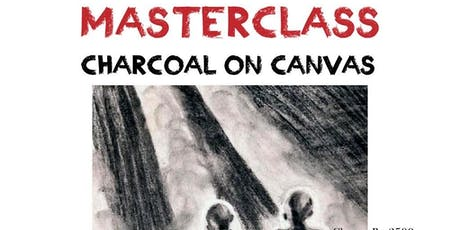 MASTERCLASS IN CHARCOAL ON CANVAS tickets