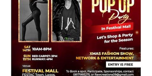 Xmas fashion show/pop up