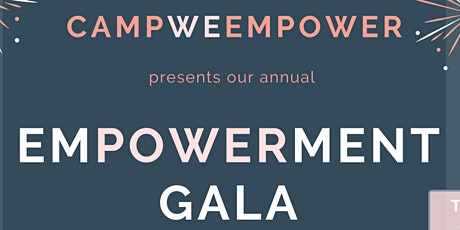 Empowerment Gala by Camp We Empower: tickets