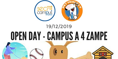Open Day - Campus a 4 Zampe  biglietti