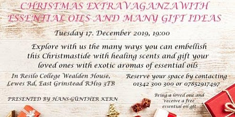 Christmas Extravaganza with Essential Oils tickets