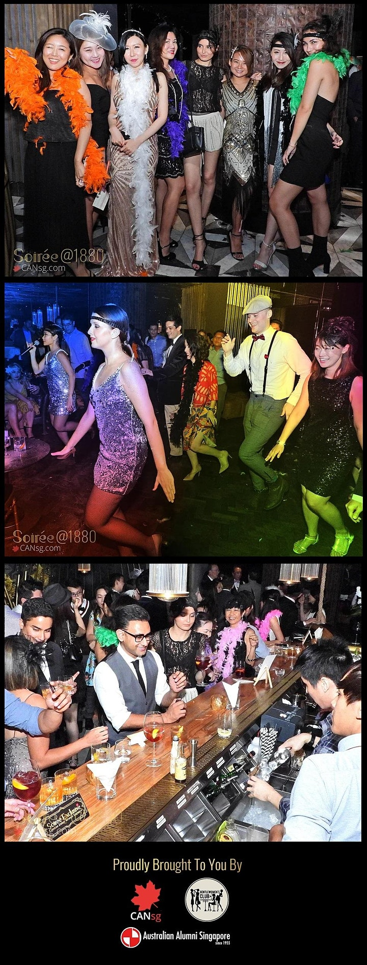 Exclusive Soirée2 Christmas Party @MBS Club55 image