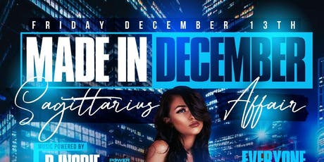 Made In December Sagittarius Affair At Amadeus Nightclub tickets