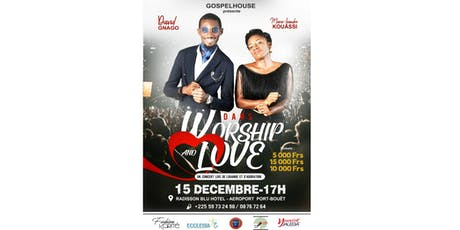 Concert Worship and Love billets