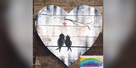 Love Birds: Glen Burnie, Sidelines with Artist Katie Detrich! tickets