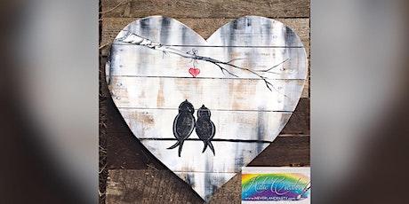 Love Birds: Glen Burnie, Sidelines with Artist Katie Detrich! tickets
