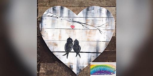 Love Birds: Glen Burnie, Sidelines with Artist Katie Detrich!