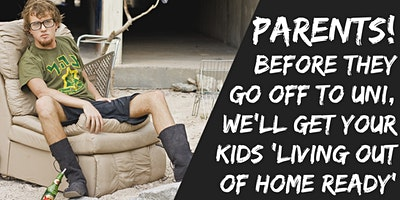 Get Your Kids 'Living Out of Home Ready'