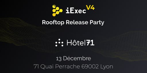 iExec V4: Crypto Rooftop Release Party