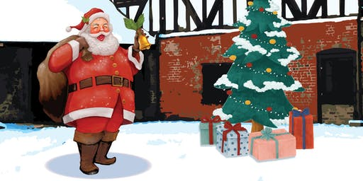 Father Christmas at the Priory