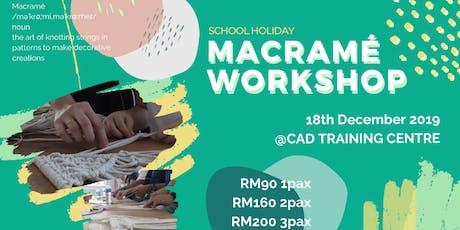 Macrame Workshop tickets