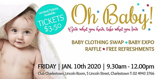 Oh Baby - January 2020 Baby Clothing Swap Event