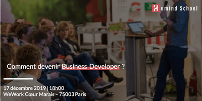 Comment devenir Business Developer ?