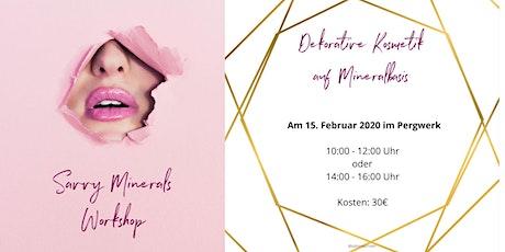Savvy Minerals Workshop tickets