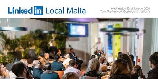 LinkedInLocal Malta - January 2020