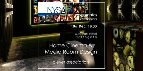 HOME CINEMA AND MEDIA ROOM DESIGN - Clever Association tickets