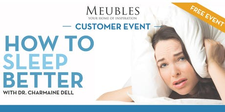 How to Sleep Better with Dr. Charmaine Dell, Family & Sports Chiropractor tickets