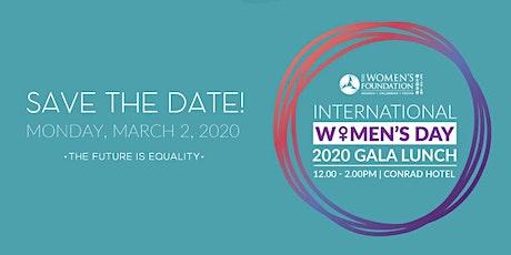 International Women's Day 2020 Gala Lunch  tickets