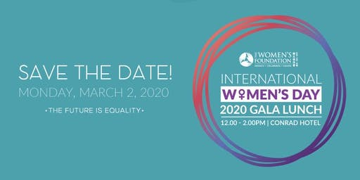 International Women's Day 2020 Gala Lunch