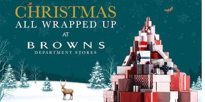 Christmas Shopping at Browns