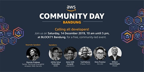 AWS Community Day - Bandung tickets