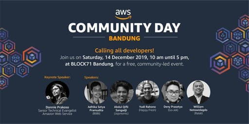 AWS Community Day - Bandung