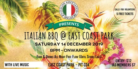 Italian BBQ - East Coast Park tickets