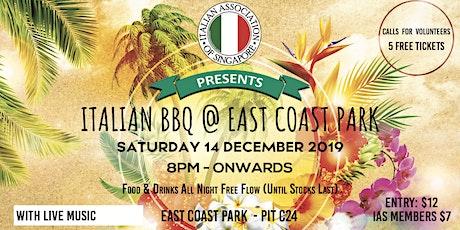 Italian BBQ - East Coast Park tickets