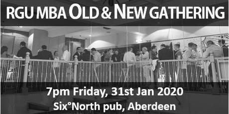 RGU MBA Old & New Gathering - 31st Jan 2020 tickets