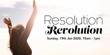 Resolution Revolution tickets