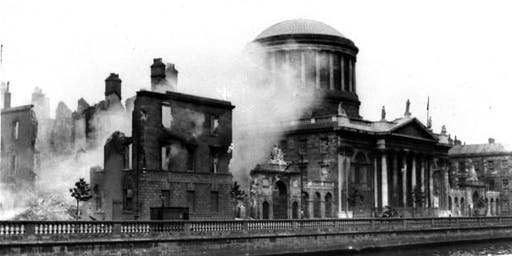 'All that remained' — The Four Courts Blaze of 1922