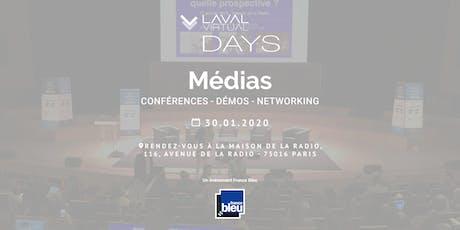 Laval Virtual Days Médias - Un événement France Bleu billets