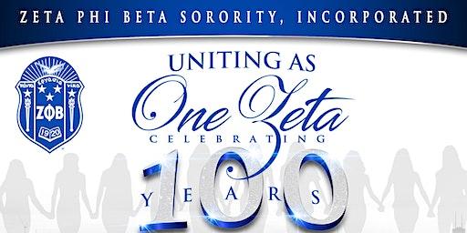 Uniting As One Zeta Celebrating 100 Years