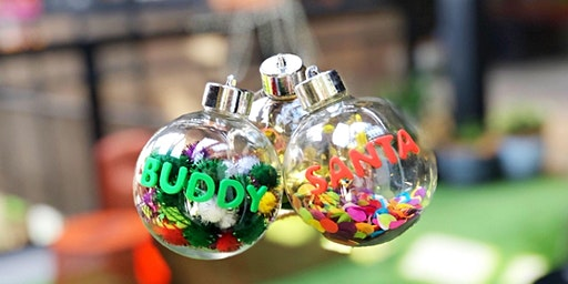 Personalised Bauble Workshop
