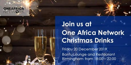 One Africa Network Christmas Drinks tickets