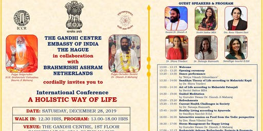 International Conference - A Holistic Way of Life