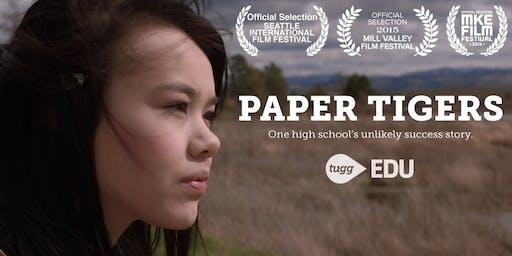 Screening of Paper Tigers