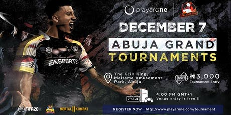 Abuja Grand (PS4) Tournaments tickets