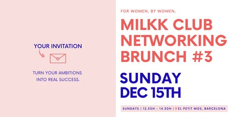 @MilkkClub Brunch #3 tickets