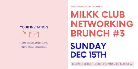 @MilkkClub Brunch #3 entradas
