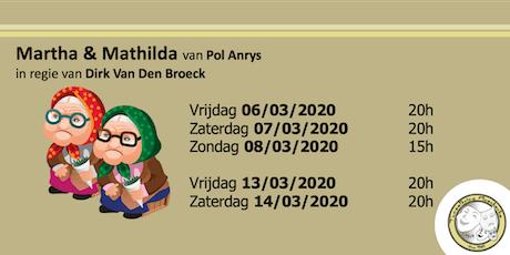 Zondag 08/03/2020 - Martha & Mathilda tickets