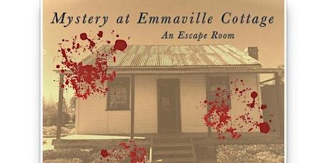 Mystery at Emmaville: An Escape Room - Thursday 16/1/2020 - School Holidays  tickets