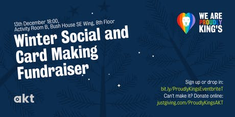 Winter Social and Card Making Fundraiser tickets