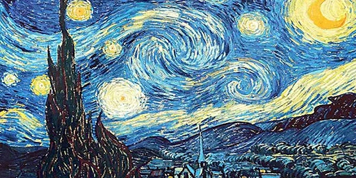 Van Gogh Starry Night - Statesman Hotel